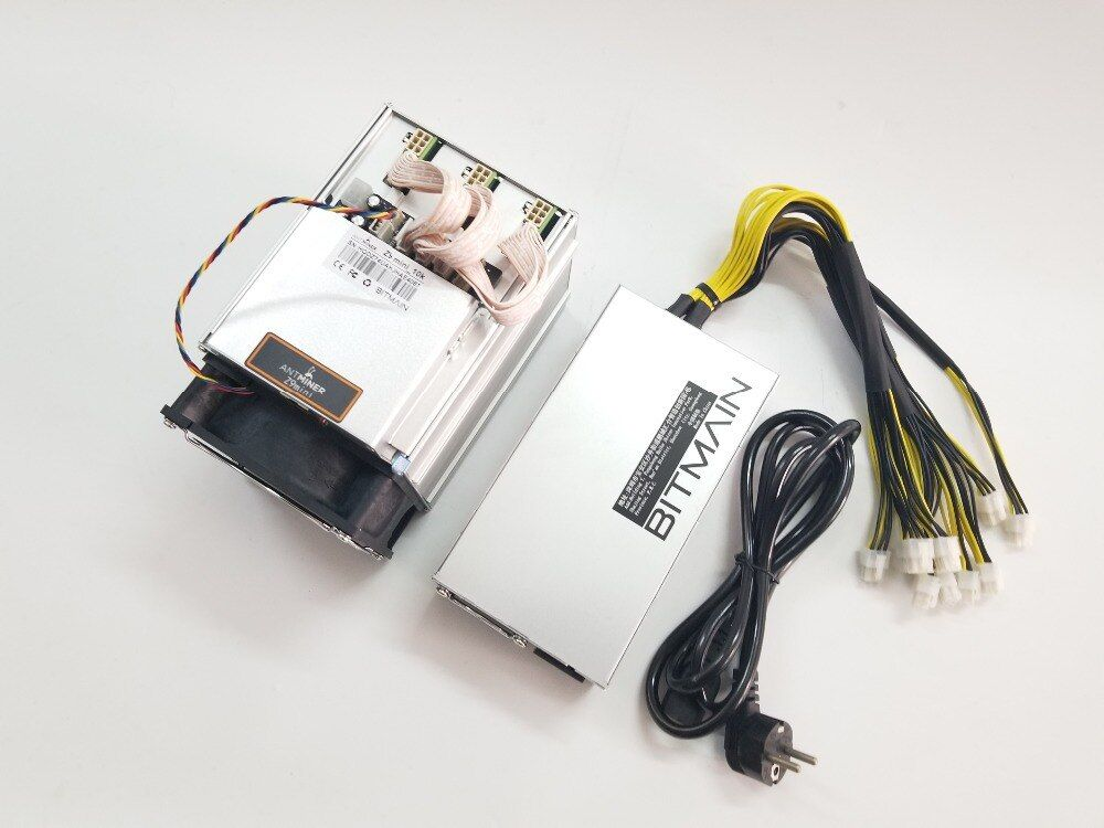 Schiff in 24 stunden ZCASH Miner Antminer Z9 Mini 10 karat Sol/s 300 watt Mit BITMAIN APW7 1800 watt NETZTEIL Asic Equihash Miner Besser als A9 S9