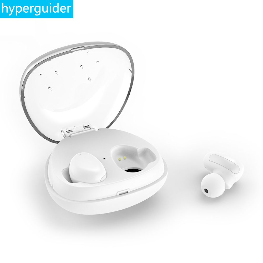 hyperguider Wireless Earbuds Bluetooth 4.2 Waterproof IPX5 Stereo Clear Bass Touch Control TWS Earphone for Meizu Xiaomi iPhone
