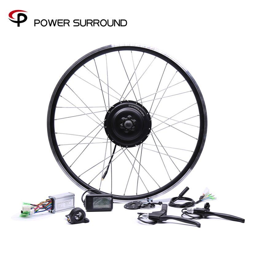 Electric Bicycle Bicicleta 36v350w Front/rear Electric Bike Conversion Kit Brushless Hub Motors 20'' 26'' 28''