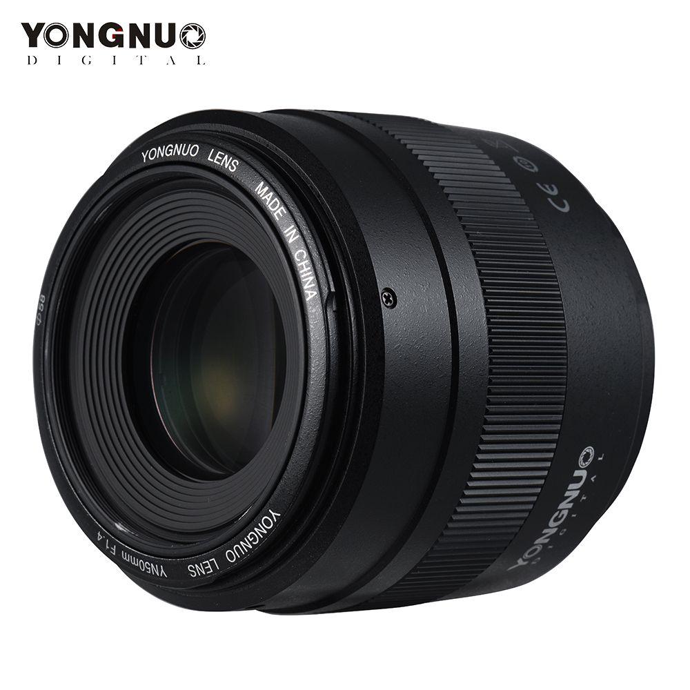 YONGNUO YN50mm F1.4N E Standard Prime Objektiv 50mm F1.4 AF/MF für Nikon D7500 D7200 D7100 D7000 D5600 d5500 D5300 D5200 D5100