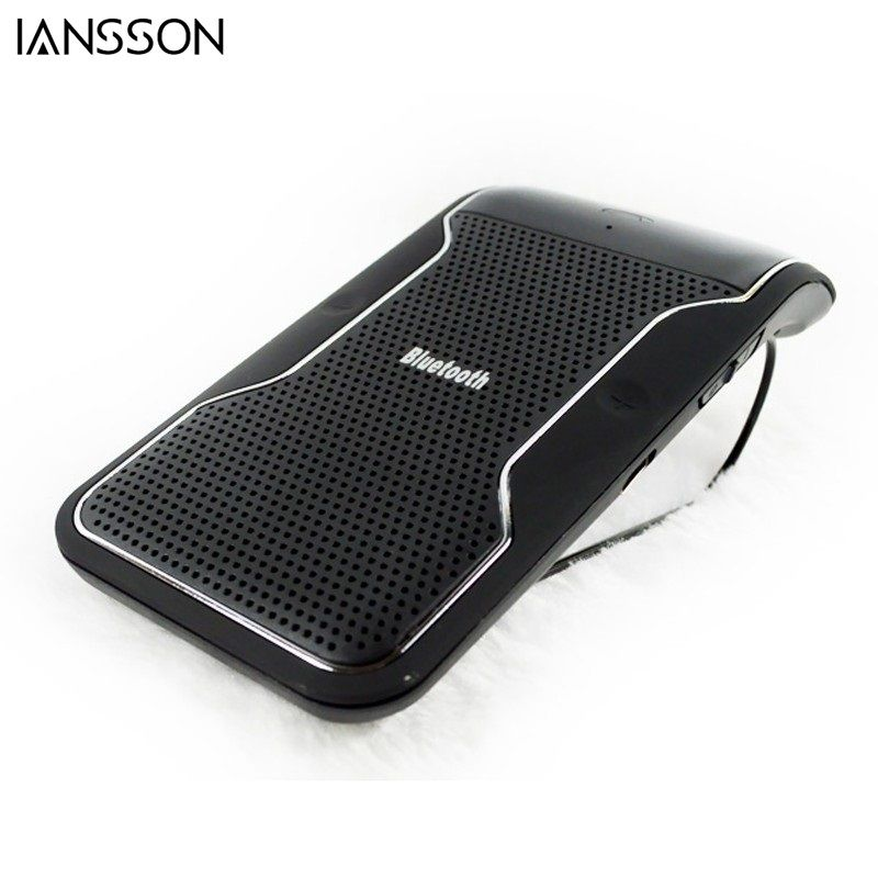 New Wireless car Bluetooth Handsfree Speakerphone Car Kit With Car Charger Bluetooth Hands free Kit manos libres