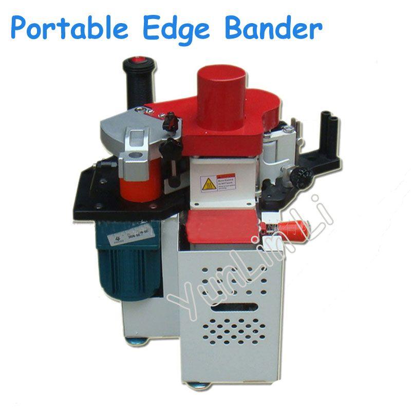 Portable Edge Bander 110V/220V Adjustable Speed Control Manual Edge Banding Machine Woodworking Machine JBD90