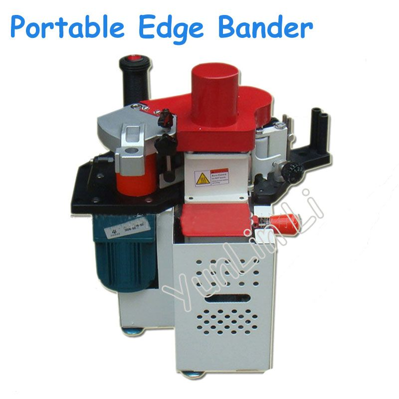 Tragbare Kantenanleimmaschine 110 v/220 v Einstellbare Geschwindigkeit Control Manuelle Rand Banding Maschine Holzbearbeitung Maschine JBD90