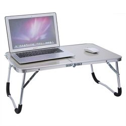 Portable Ordinateur Bureau de Pique-Nique Camping Table Pliante Bureau D'ordinateur Portable Stand PC Portable Plateau de Lit Table D'ordinateur Portable Bureau Meuble