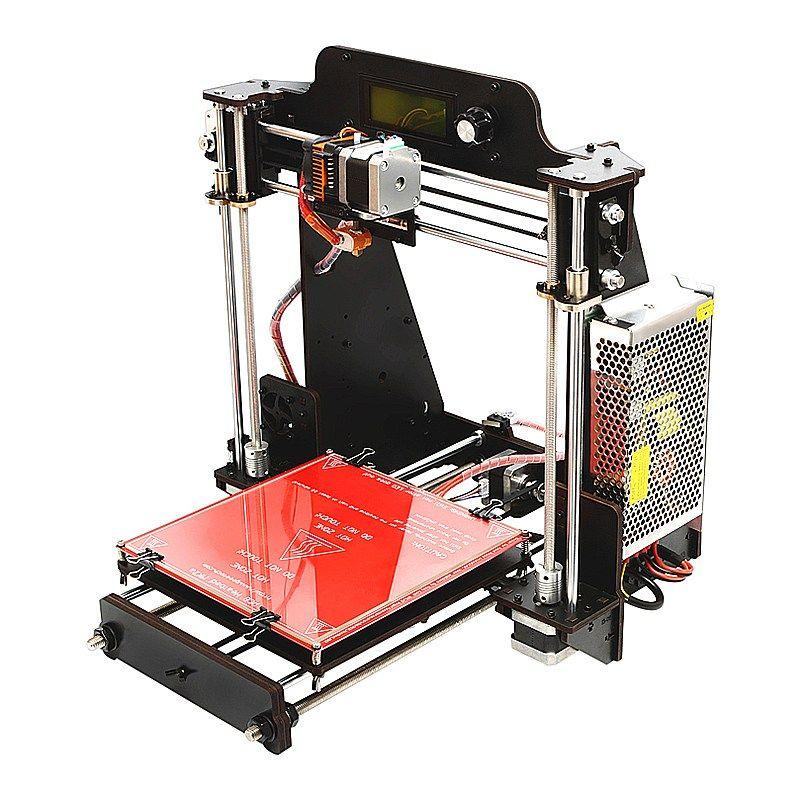 Geeetech I3 Pro W DIY 3D Printer Kit GT2560 Control Board 200x200x180mm Printing Size 1.75mm 0.3mm Nozzle
