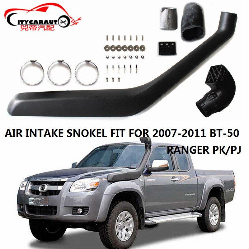 CITYCARAUTO AIRFLOW SNOKEL KIT AIR FILTER Fit FOR MAZDA BT50 BT-50 FORD RANGER PK/PJ 2007-2011 Air Intake LLDPE Snorkel Kit Set