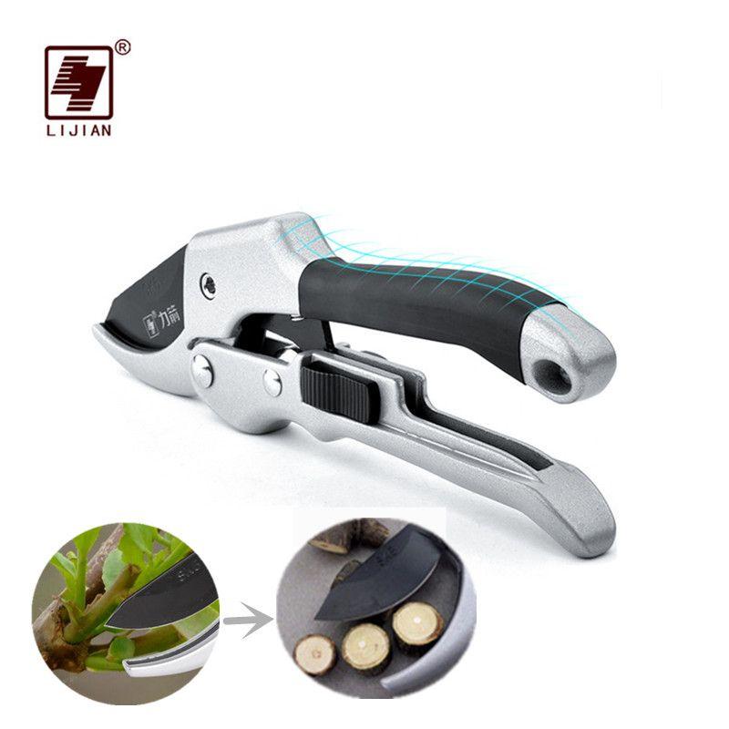 LIJIAN SK5 Pruners Garden Tools Secateurs Bonsai Fruit Tree Gardening Shears Scissors Hand Tools Pruning Shears Free Blade 1PCS
