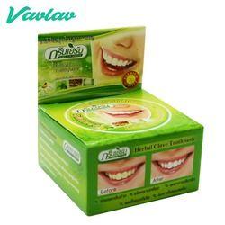 Вацлав зеленая трава натуральный травяной Clove Зубные пасты отбеливание зубов прошлом чистки зубов удалить пятно антибактериальные аллерги...