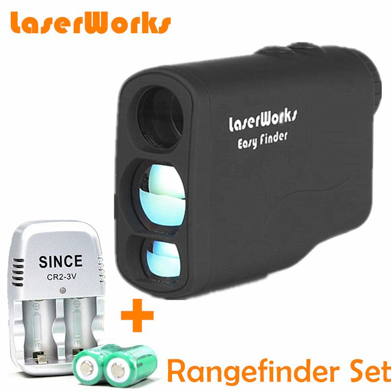 600m Distance Meter Monocular Golf Laser Range finder Hunting rangefinder binoculars Camping Hiking Telescope Charger Set