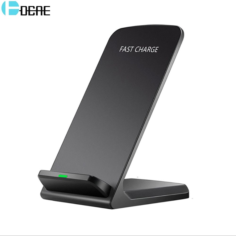 DCAE Qi Wireless Charger For iPhone XS Max XR X 8 For Samsung S9 S8 S7 Xiaomi mix 2s Fast Wireless Charging Docking Dock Station