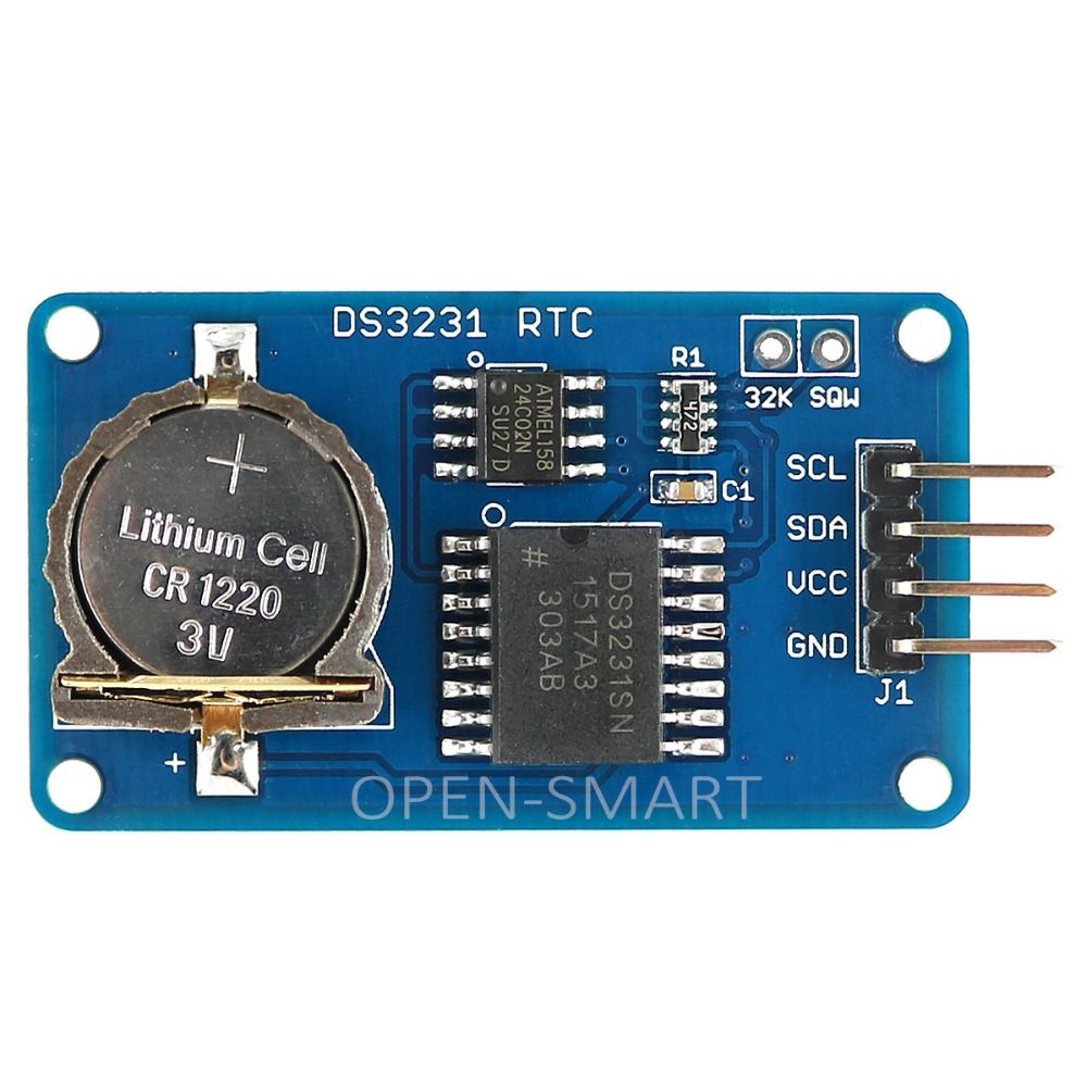 DS3231 RTC Module avec AT24C02 EEPROM Haute Précision et I2C Interface Horloge Temps Réel module pour Arduino