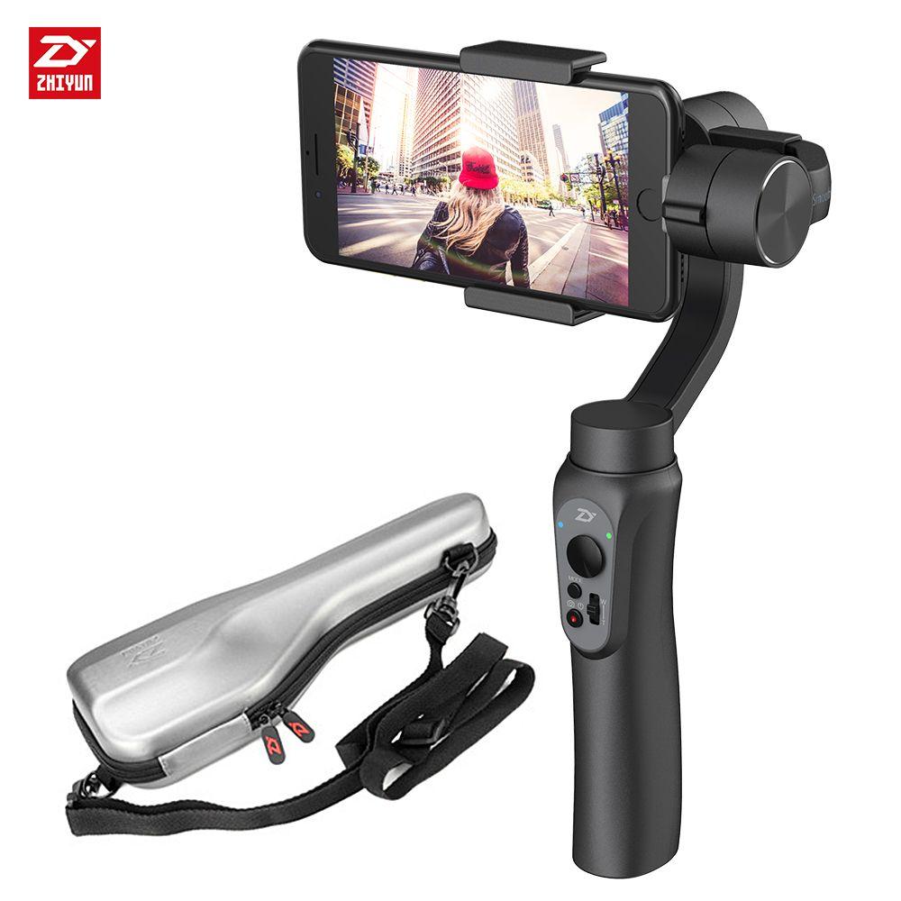 Zhi yun Zhiyun Lisse Q 3-Axis Cardan Stabilisateur De Poche pour iphone Sumsung Gopro