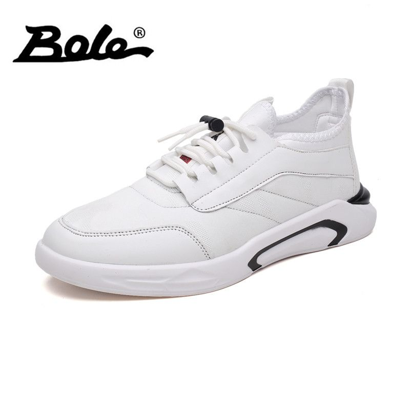BOLE Men Canvas Casual Shoes Spring Summer Breathable Lace Up Sneakers Fashion Lightweight Footwear Casual Shoes Men