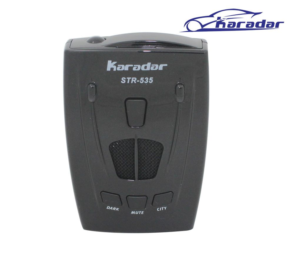 <font><b>KARADAR</b></font> Russia Strelka Car Radar Laser Detector STR535 with full bands and strelka robot K ka X later anti radar car detector