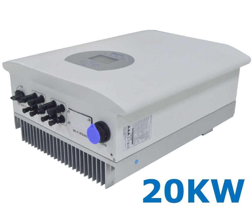 20000 watt String Solar Power auf Grid Tie Inverter 3 Phase AC 380 v/440 v DC 200- 1000 v PV Trafo 7KW Wi-Fi