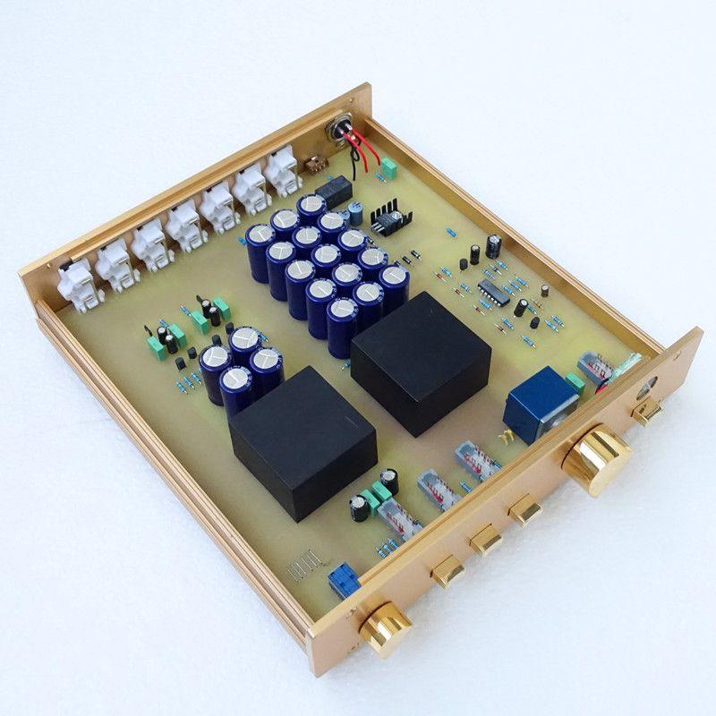 Brise audio & Weiliang audio ausgezeichnete geklont preamp FM155 spiel mit FM300 verstärker perfekt HIFI AUDIO