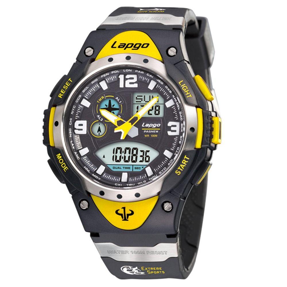Top Luxus Marke Pasnew Uhren Military Männer Uhren Sport Uhren Männer 100 M Wasserdicht Schwimmen Dive Uhren relogio masculino