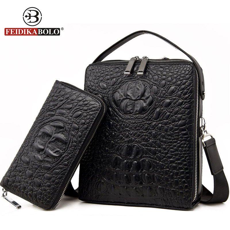 Men's Crossbody Bag Men Messenger Bags Trunk Leather Handbags Luxury Brand Men Bag Shoulder Bags Designer Handbags High Quality
