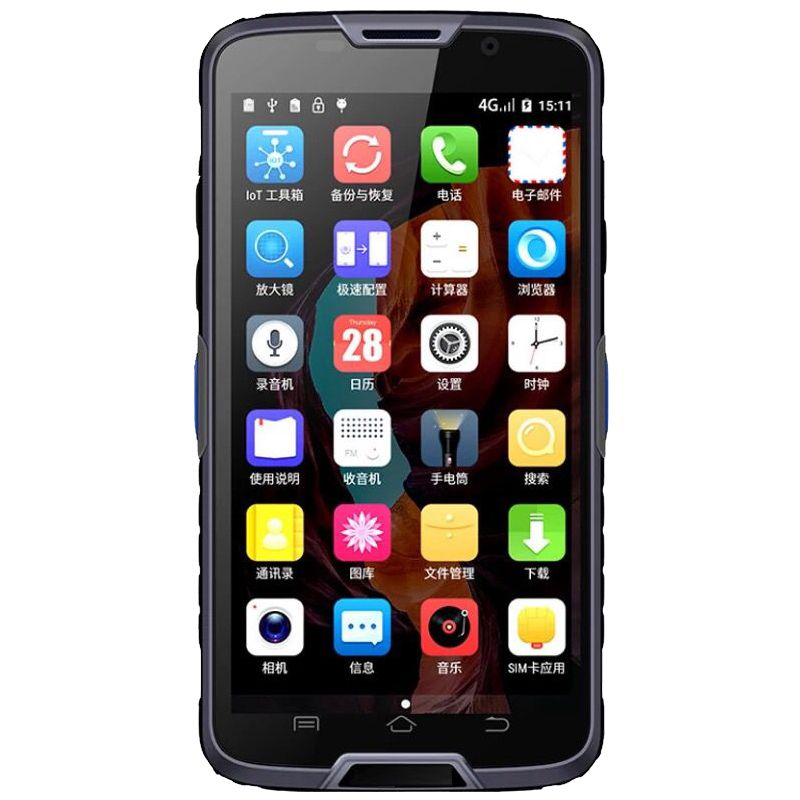 5 zoll android 6.0 4g LTE 2D barcode handheld terminal