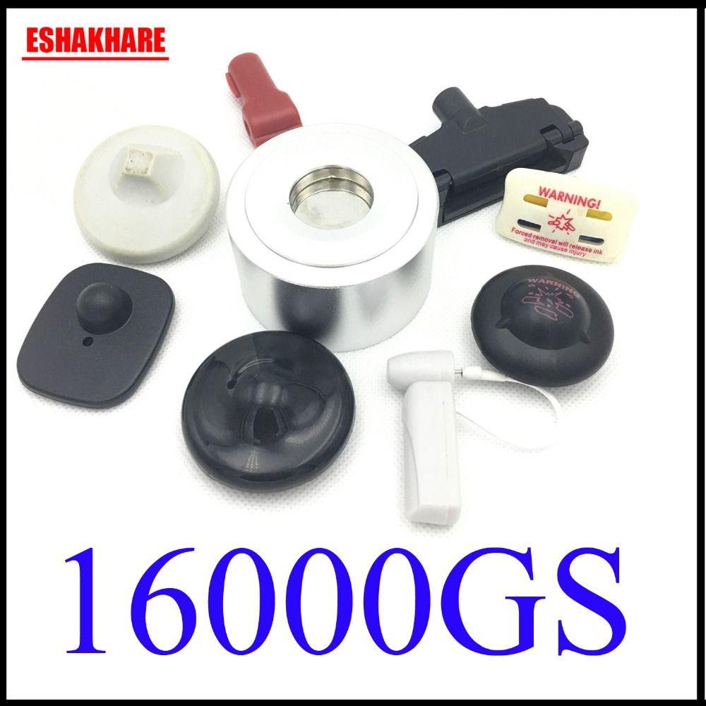 Détacheur d'étiquette de sécurité d'habillement détacheur universel de point de contrôle 16000GS pour le décapant d'étiquette d'aimant de superlock de système d'eas