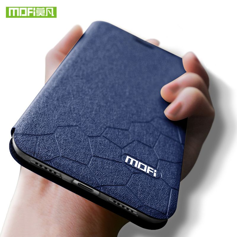 Pour Xiao mi mi Max 3 Cas pour mi Max3 Couverture Silicone TPU Flip En Cuir pour Xiao mi mi Max 3 cas En Cuir Cas 6.9 pouce Mofi Coque