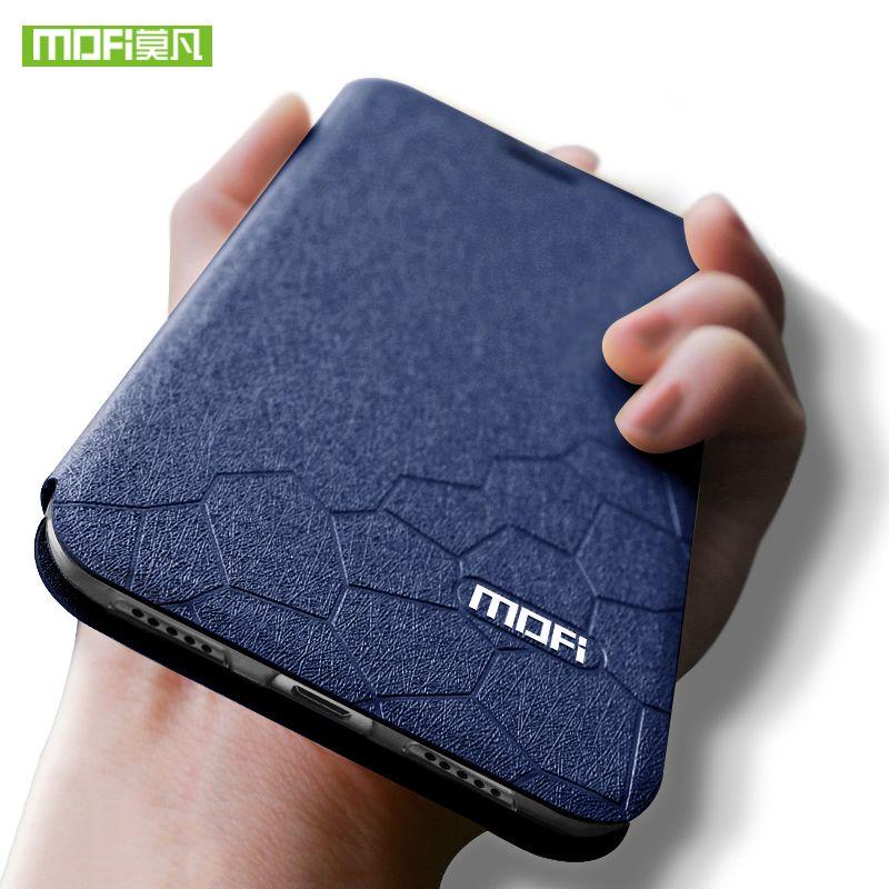 Pour Xiao mi mi Max 3 étui pour mi Max3 housse Silicone TPU Flip cuir pour Xiao mi Max 3 étui en cuir 6.9 pouces Coque Mofi