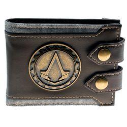 Juego Assassins Creed hombres cartera pequeña vintage cartera marca de alta calidad diseñador bolso corto DFT-1479