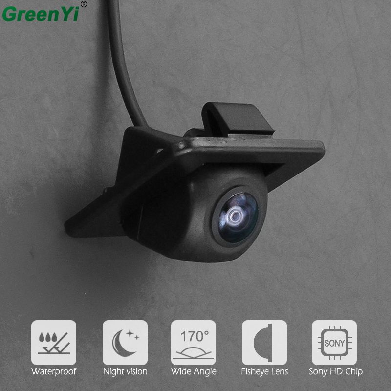 170 degrés Sony MCCD Fisheye lentille Starlight Vision nocturne tronc poignée caméra vue arrière caméra pour Kia K3 K3S Cerato Forte 2014