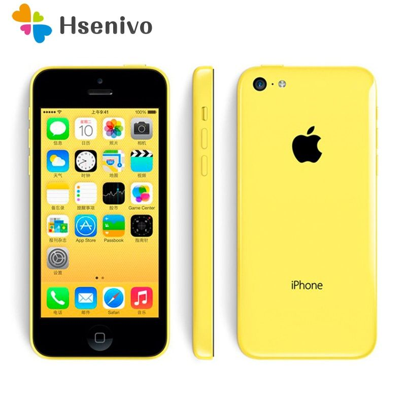 Original Unlocked Apple iPhone 5C Mobile Phone Dual Core 4.0