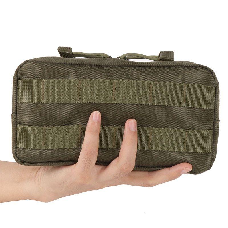 Outdoor 600D Nylon Fahrwerk Molle Pouch Military Tasche Taktische Weste Kleinigkeiten Kamera Magazin Aufbewahrungstasche
