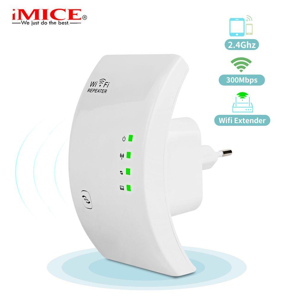 300Mbps Wifi Repeater Wireless 2.4G Wifi Network <font><b>Mini</b></font> Range Extender 802.11N/B/G Wifi Booster Signal Amplifier