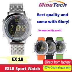 EX18 Sport Montre Smart Watch IP68 Étanche 5ATM Passometer Xwatch De Natation Smartwatch Montre Bluetooth pour Smartphone