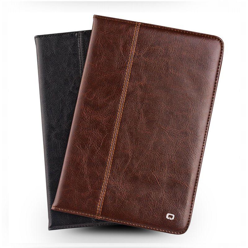 Für Neue iPad 2017 2 Reale Echtes Leder-kasten Schlanke Brieftasche Shell Für Apple iPad Pro 9,7 ''Air 2 Schutz Ständer