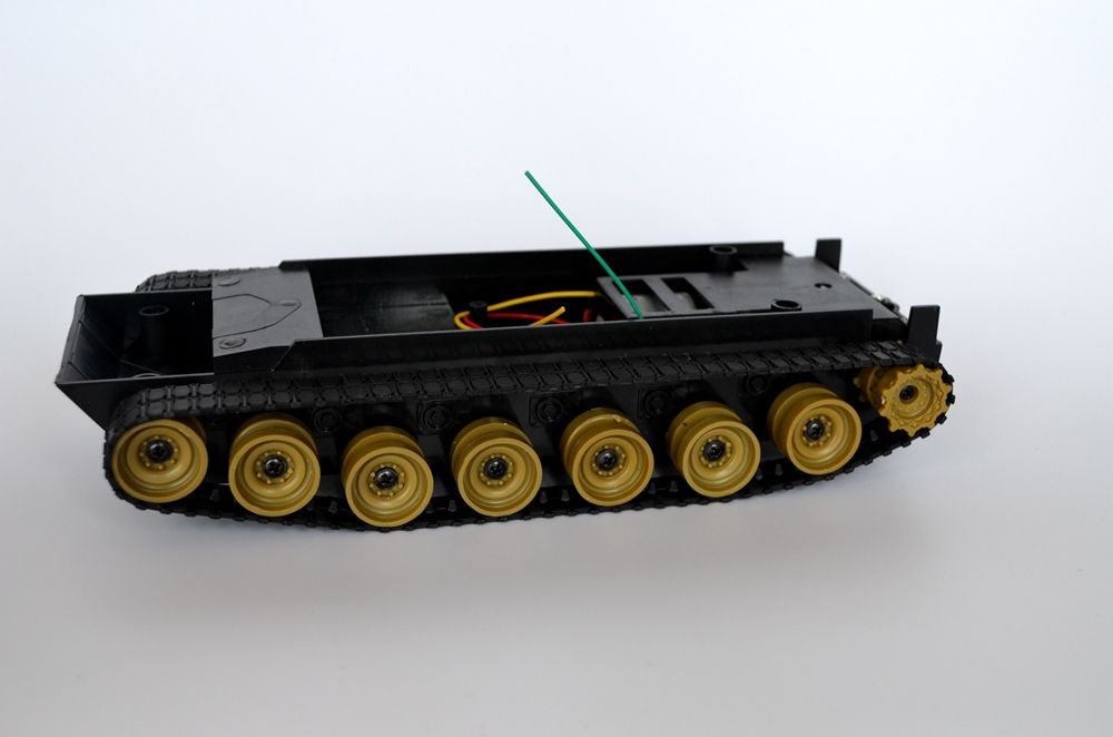 Cheap Robot tank Chassis platform DIY Chassis Smart track huanqi for Arduino New Dream X0108