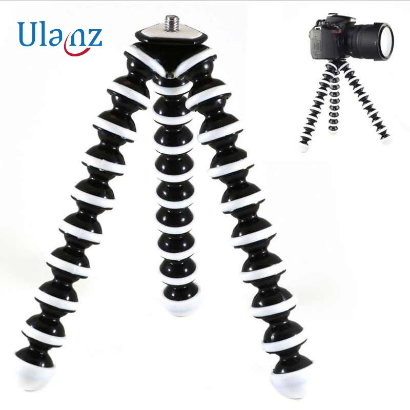 Large model Flexible Desktop Tripod Octopus Style Selfie Stick Stand Holder for Gopro Camera / SLR / DV iphone Samsung phone