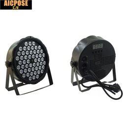 Светодиодный par огни 54x3 W DJ прожектор светодиодный 54*3 Вт огни R12, G18, B18, W6 мыть светомузыка, DMX контроллер эффект для маленьких, платье для вечер...