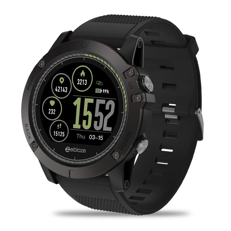 Zeblaze VIBE 3 HR Smartwatch IP67 Waterproof Wearable Device HeartRate Monitor Sport Color Display Smart Watch For Android IOS