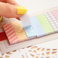 160 páginas kawaii lindo cojín de nota papelería pegajoso planificador Adhesivos cuadernos Oficina suministros de la escuela