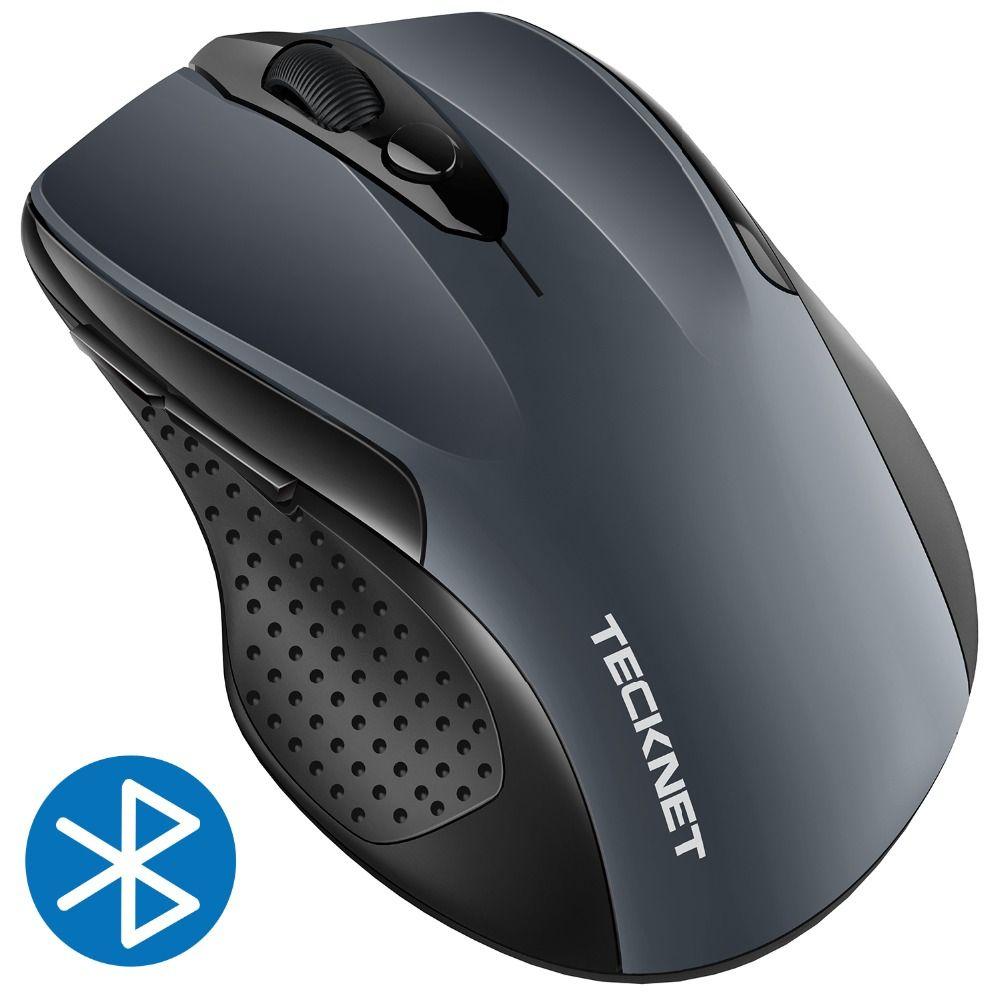 Souris Bluetooth TeckNet 2600 DPI souris sans fil Portable réglable 24 mois d'autonomie souris sans fil pour PC/tablette/ordinateur Portable