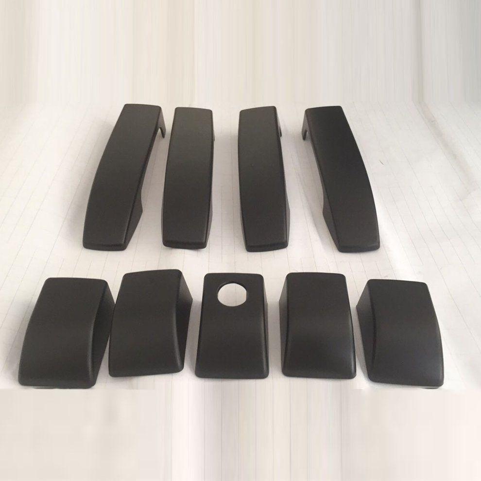 9 stücke Matte Türgriff Abdeckungen Trim Für Land Rover Range Rover Vogue L322 02-12