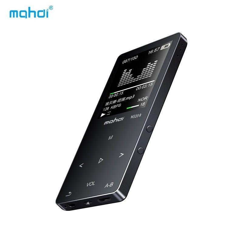 Mahdi MP4 Player Bluetooth 8G 1,8 Zoll MP4 Touch HD bildschirm Mit Akku Unterstützung Video Musik Aufnahme Lautsprecher FM TF