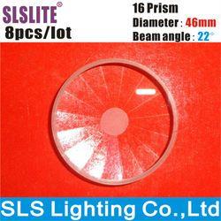 8 PCS/LOT 16 prisma sharpy 5R bergerak ringan kepala 200 w balok sharpi 16-facet prisma balok bergerak kepala balok dj Tanah Liat Paky pernikahan cahaya