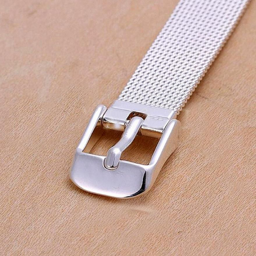 Superior Fashion Milanese Bracelets Stainless Steel 18mm Wrist Watch Band Strap Mar22