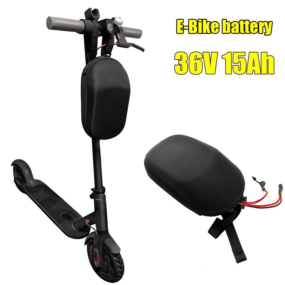 36 V 15Ah Lithium-Batterie e-bike batts mit tasche für 500 W 250 w falten Elektro Fahrrad Roller batterie mit BMS 36 V 2A ladegerät