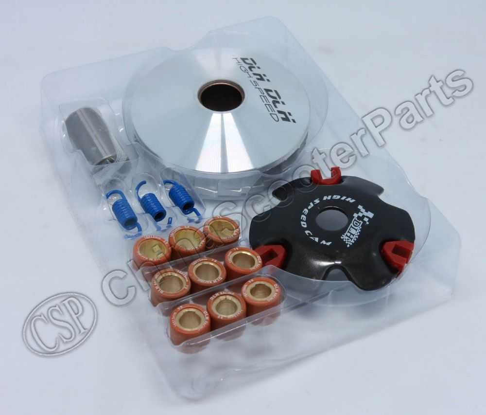 Performance CVT Variator Front Clutch Drive Pulley Kit for GY6 50 50cc DIO 50cc 139QMB 139QMA Moped scooter ATV