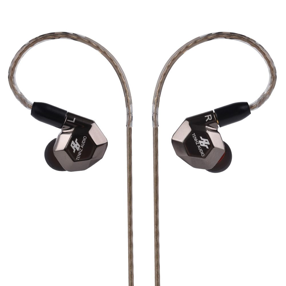 AUDBOS K5 TENHZ AUDIO K5 Metal 2BA+2DD In Ear Earphone Armature with Dynamic 4 Units Hybrid Headset With MMCX