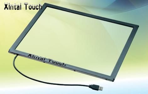 Xintai Touch! 28 Inch 10 points multi touch screen panel / IR multi touch screen overlay for touch table, kiosk etc