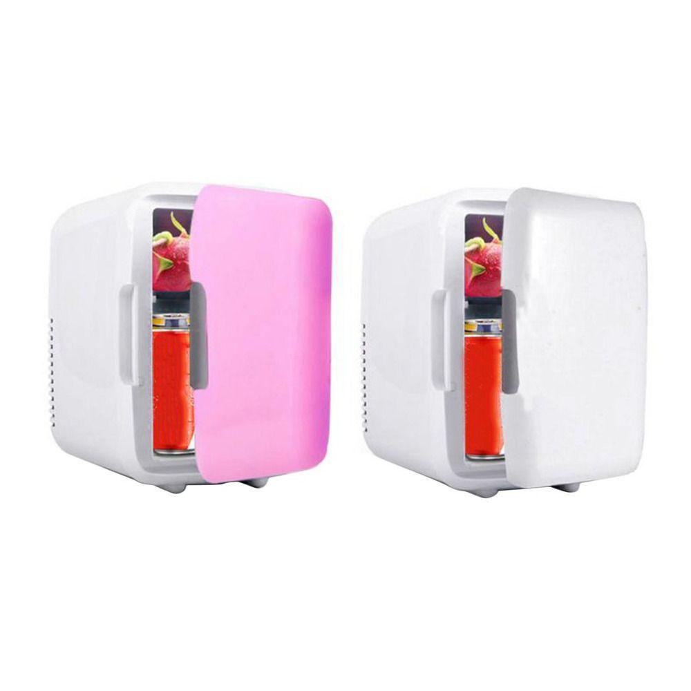 4L utilisation de voiture réfrigérateurs Ultra silencieux faible bruit prise de voiture Mini réfrigérateurs congélateur refroidissement boîte de chauffage réfrigérateur outil de voyage