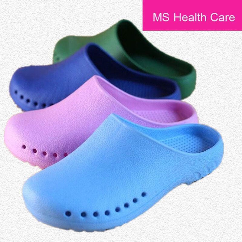 Hospital de EVA antideslizante Zapatos para Accesorios Estudio médico Quirúrgico Zapatillas hombre/mujeres médicos de Protección Médica Zapatillas