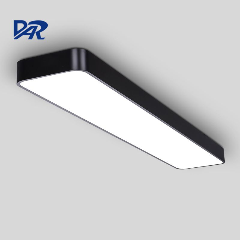 High Quality Office Lighting Fixture Silver/White/Black Modern Led Ceiling Lights For Meeting Room Aluminum Lamparas De Techo